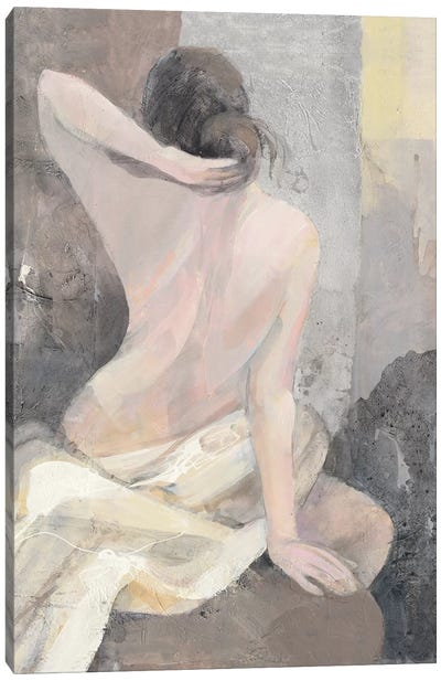 After The Bath I Canvas Art Print