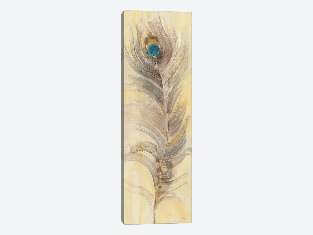 Blue Eyed Feathers II by Albena Hristova 1-piece Canvas Art Print