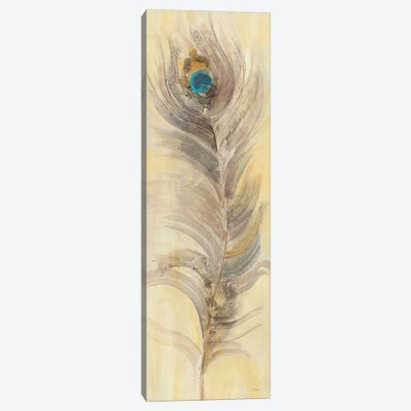 Blue Eyed Feathers II Canvas Print #WAC4884} by Albena Hristova Canvas Art
