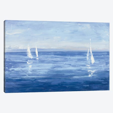 Open Sail Canvas Print #WAC4895} by Julia Purinton Canvas Print