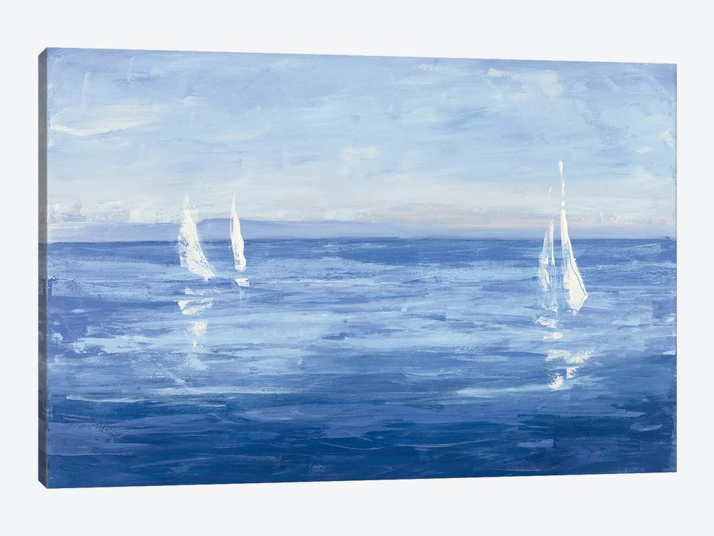 Open Sail by Julia Purinton 1-piece Canvas Art Print