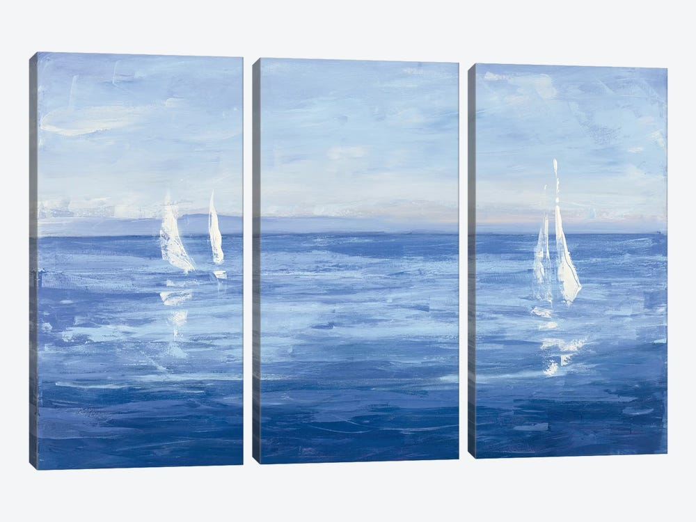 Open Sail by Julia Purinton 3-piece Art Print
