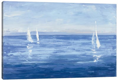 Open Sail Canvas Art Print