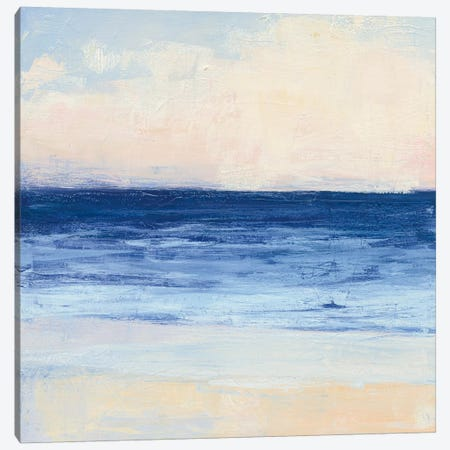 True Blue Ocean I Canvas Print #WAC4897} by Julia Purinton Art Print