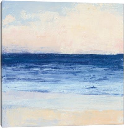 True Blue Ocean I Canvas Art Print