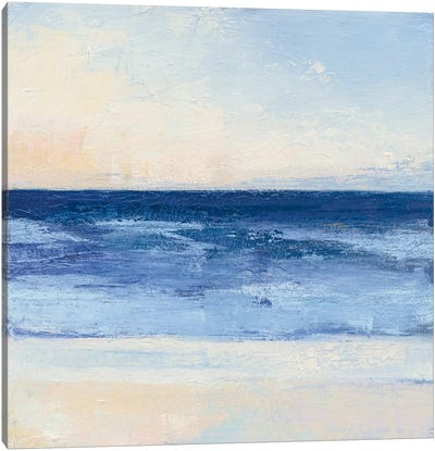 True Blue Ocean II Canvas Art Print