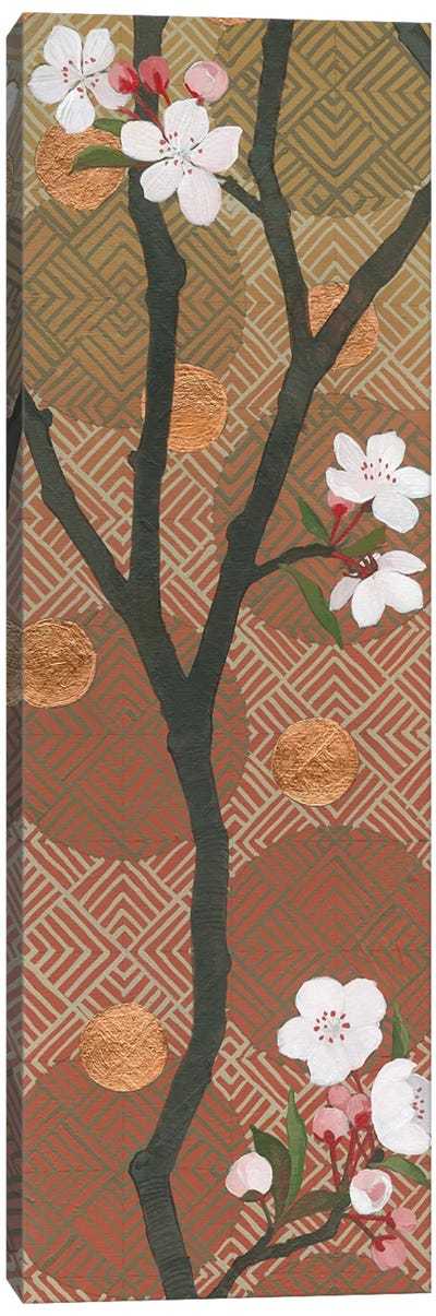 Cherry Blossoms Panel I Canvas Print #WAC4904