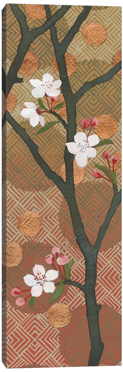 Cherry Blossoms Panel II Canvas Print #WAC4905