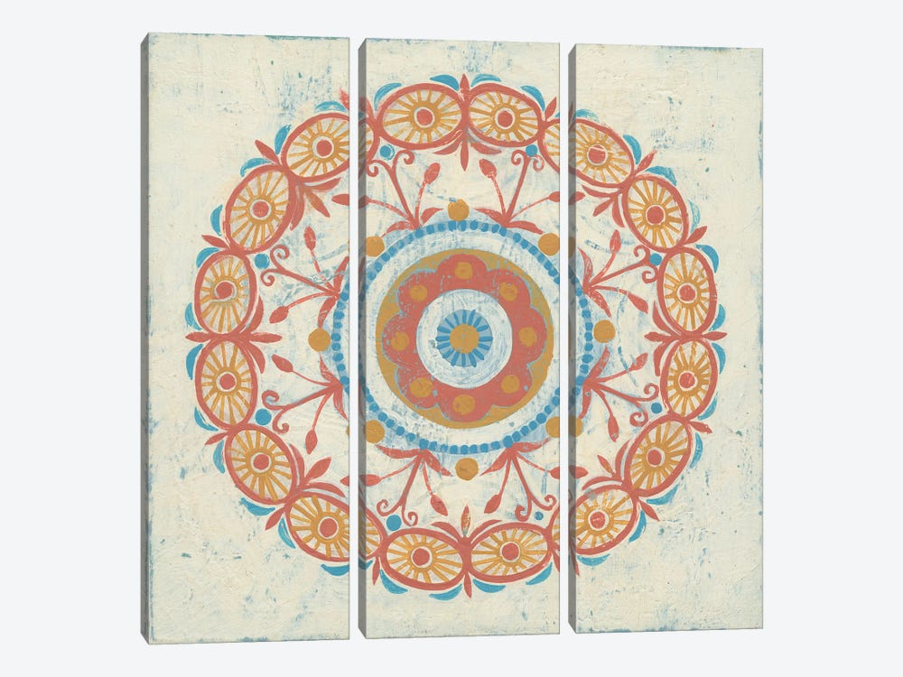 Lakai Circle I by Kathrine Lovell 3-piece Canvas Artwork