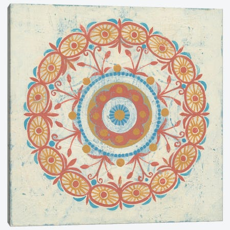Lakai Circle I Canvas Print #WAC4906} by Kathrine Lovell Canvas Art Print