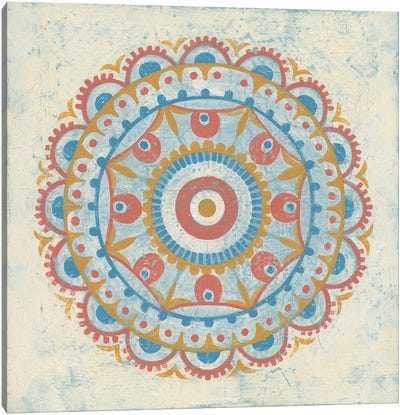 Lakai Circle VI Canvas Print #WAC4909