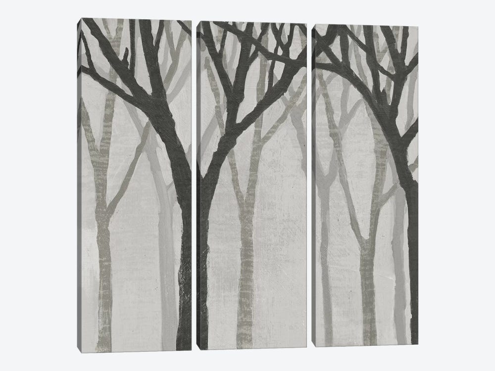Spring Trees Greystone I by Kathrine Lovell 3-piece Canvas Print