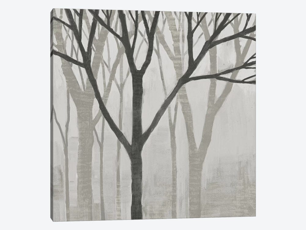 Spring Trees Greystone II by Kathrine Lovell 1-piece Canvas Art