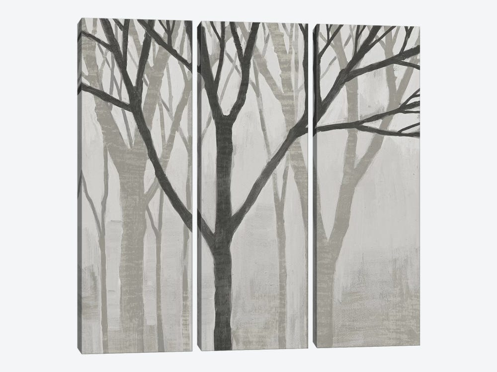 Spring Trees Greystone II by Kathrine Lovell 3-piece Canvas Artwork