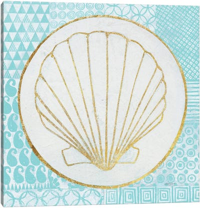 Summer Shells II Canvas Art Print