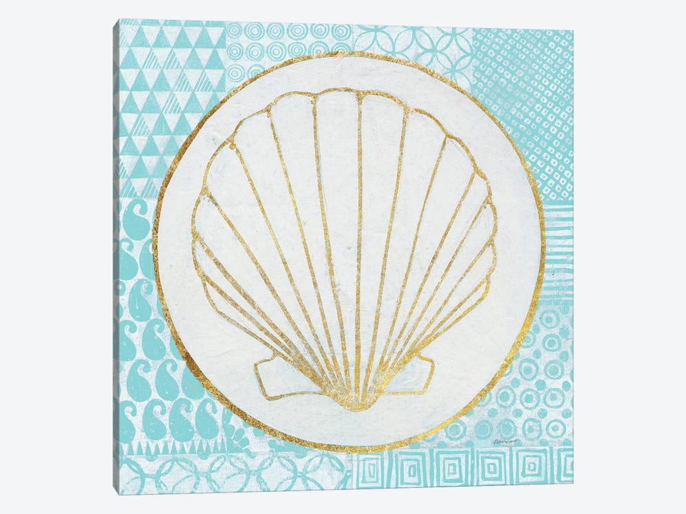 Summer Shells II by Kathrine Lovell 1-piece Canvas Print