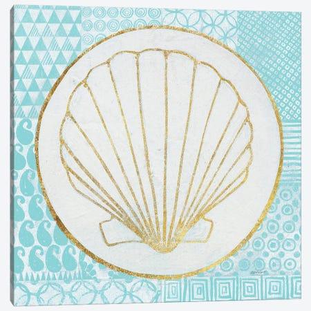 Summer Shells II Canvas Print #WAC4916} by Kathrine Lovell Canvas Art