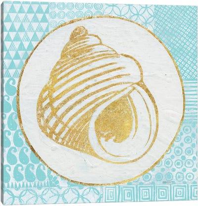 Summer Shells III Canvas Art Print