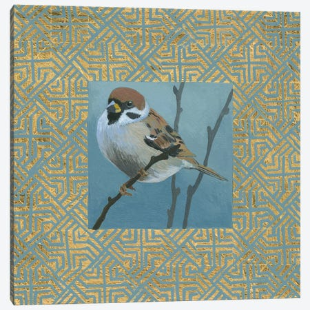 The Sparrow Canvas Print #WAC4919} by Kathrine Lovell Canvas Art Print