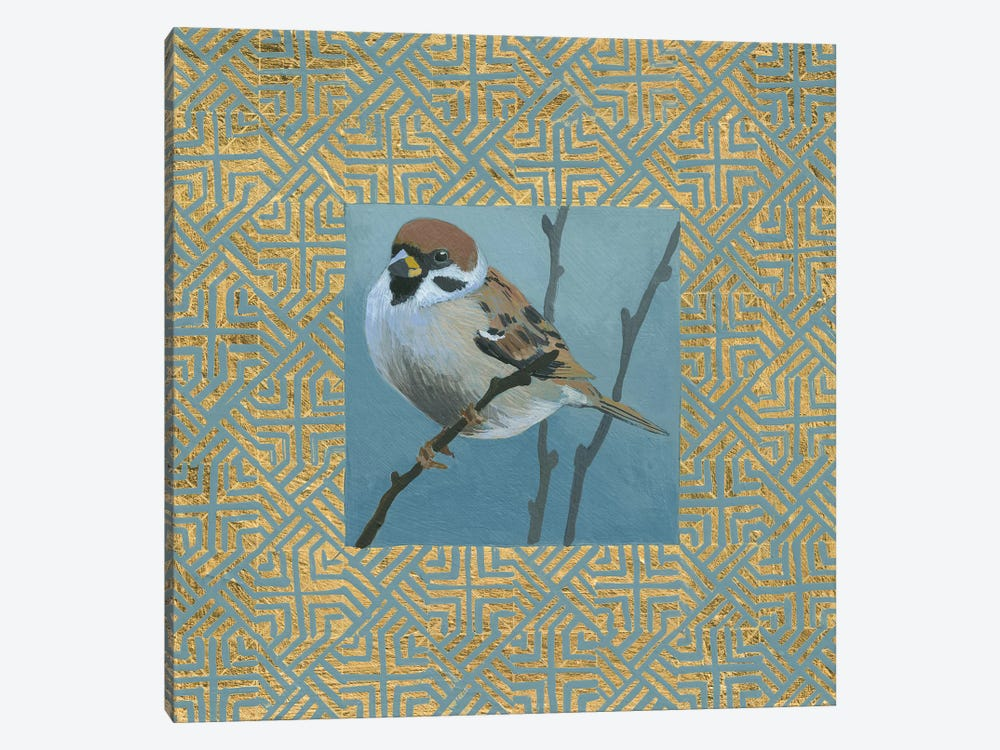 The Sparrow by Kathrine Lovell 1-piece Canvas Wall Art
