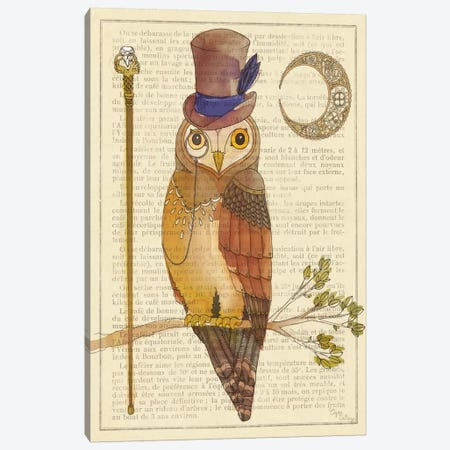 Steampunk Owl II Canvas Print #WAC491} by Elyse DeNeige Canvas Print