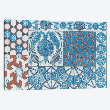 Turkish Tiles Canvas Print #WAC4920} by Kathrine Lovell Canvas Art