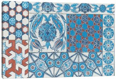 Turkish Tiles Canvas Print #WAC4920