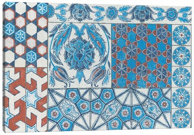 Turkish Tiles Canvas Art Print