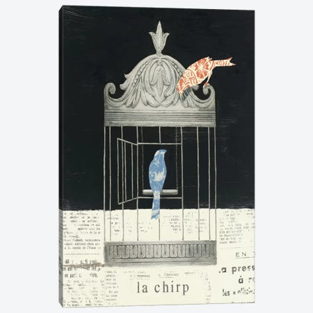 La Chirp Canvas Print #WAC492} by Emily Adams Canvas Print