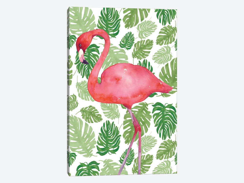 Tropical Flamingo II by Wild Apple Portfolio 1-piece Art Print