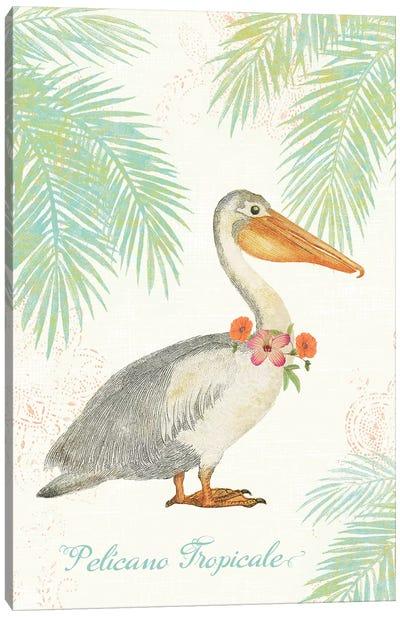 Flamingo Tropicale I Canvas Print #WAC4939