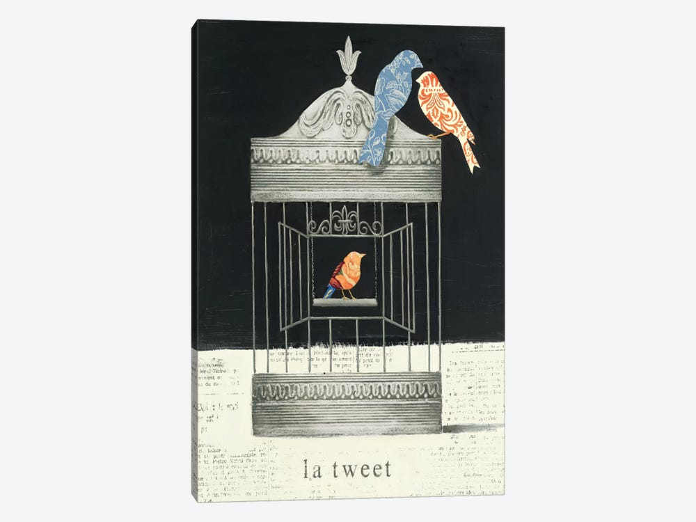 La Tweet by Emily Adams 1-piece Art Print