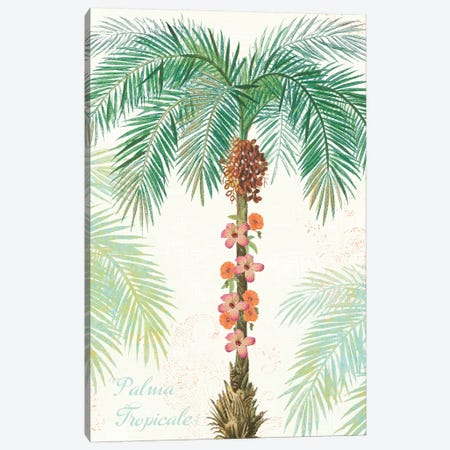 Flamingo Tropicale III Canvas Print #WAC4941} by Sue Schlabach Canvas Wall Art