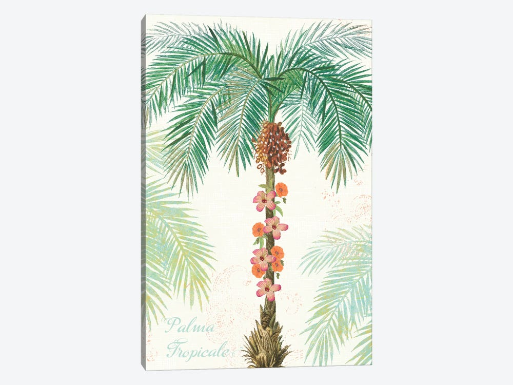 Flamingo Tropicale III by Sue Schlabach 1-piece Art Print