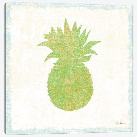 Flamingo Tropicale X Canvas Print #WAC4948} by Sue Schlabach Canvas Artwork