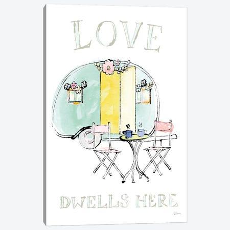 Girlfriends Cabin III Canvas Print #WAC4951} by Sue Schlabach Art Print
