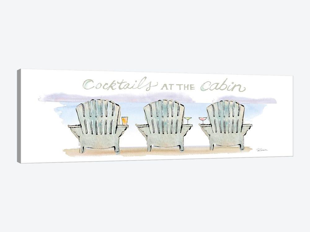 Girlfriends Cabin VII by Sue Schlabach 1-piece Canvas Wall Art