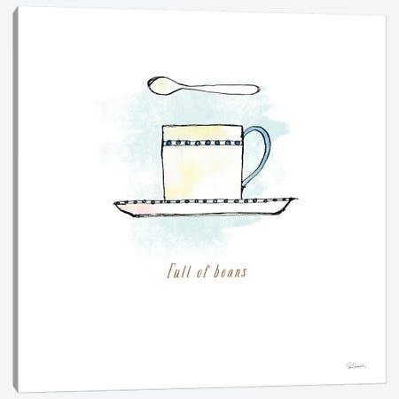 Good Brew III Canvas Print #WAC4959} by Sue Schlabach Art Print
