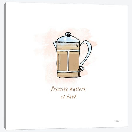Good Brew IV Canvas Print #WAC4960} by Sue Schlabach Canvas Artwork