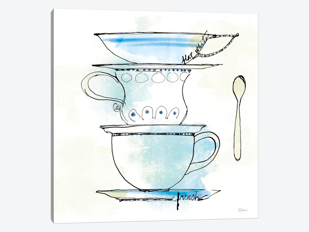 Good Brew VI by Sue Schlabach 1-piece Canvas Print