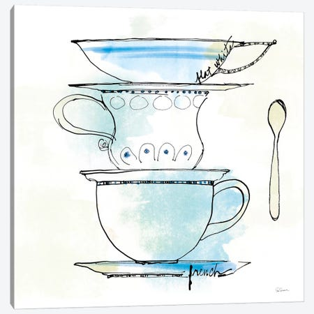 Good Brew VI Canvas Print #WAC4963} by Sue Schlabach Canvas Art