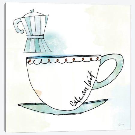 Good Brew VII Canvas Print #WAC4964} by Sue Schlabach Art Print