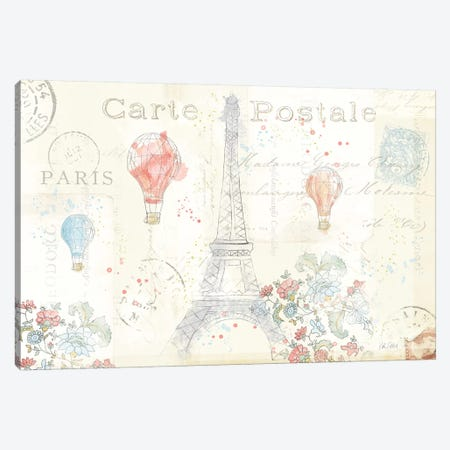 Lighthearted In Paris I Canvas Print #WAC4979} by Katie Pertiet Canvas Print