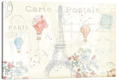 Lighthearted In Paris I Canvas Print #WAC4979