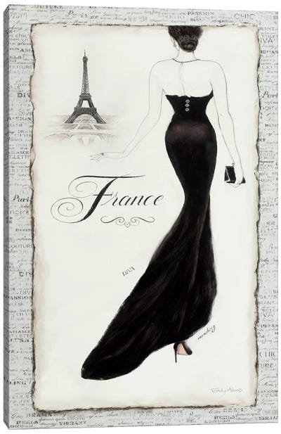 Elegance I Canvas Print #WAC497