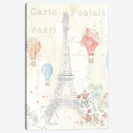 Lighthearted In Paris II Canvas Print #WAC4980} by Katie Pertiet Canvas Art