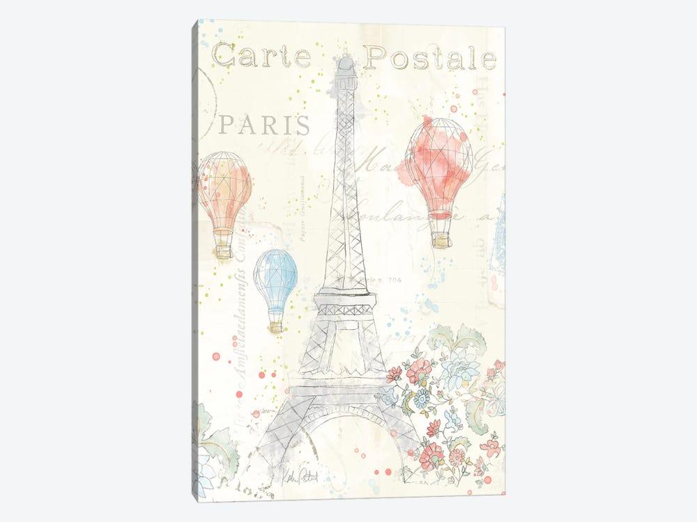 Lighthearted In Paris II by Katie Pertiet 1-piece Canvas Artwork