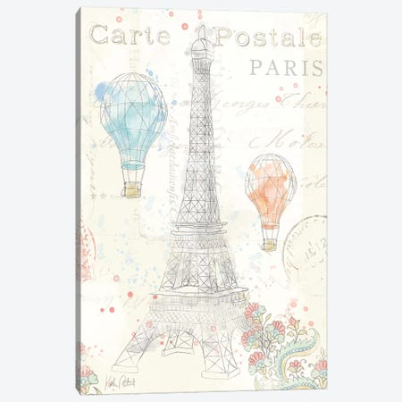Lighthearted In Paris III Canvas Print #WAC4981} by Katie Pertiet Canvas Art