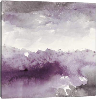 Midnight At The Lake II Canvas Art Print
