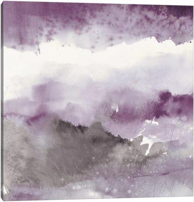 Midnight At The Lake III Canvas Art Print